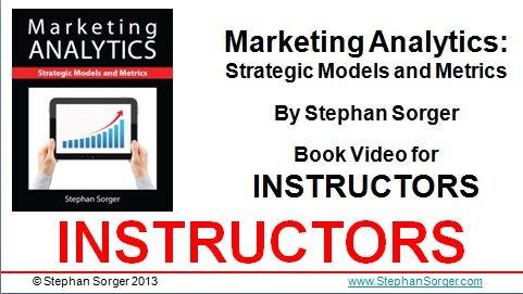 marketing analytics instructors